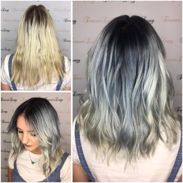 Adding some colour to this look we're obsessed with this bold balayage! Of course, only with Olaplex!