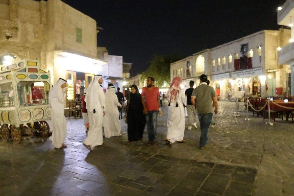 Party time in the souq.