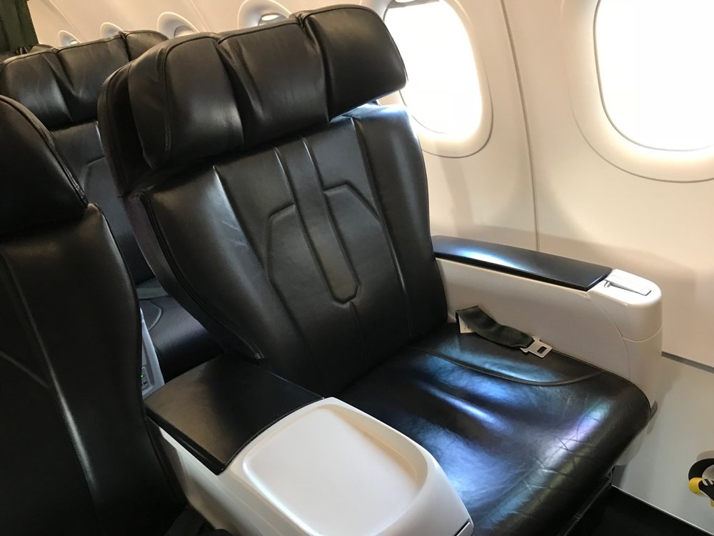 Comfy for sure, but definitely not Dreamliner-style!