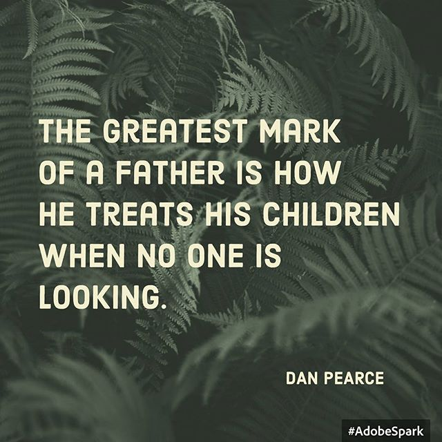 #motivationmonday How are you treating your kids? Are you harsh, short tempered, distant? Or are you gentle, patient, and engaging? DOingTheDadThing