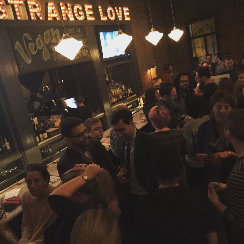 Bethesda Project's YPAB threw a happy hour fundraiser at Strangelove's to spread the word about their good work and raise money for the organization