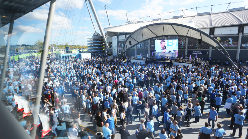Purple Universe Talent Management - Barron to peform at Fan Zone at Manchester City FC