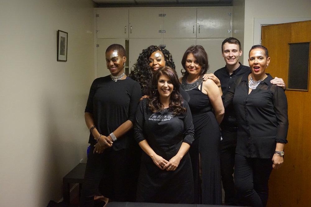 Bev with singers.JPG