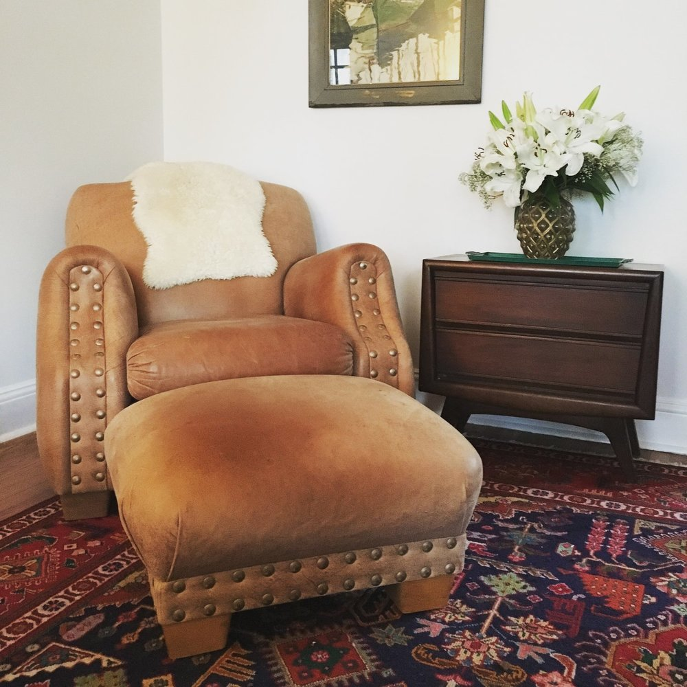 Big Leather Chair