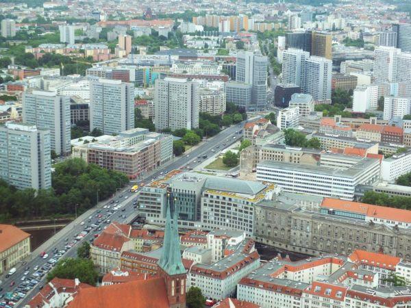 Berlin Blick vom Fernsehturm