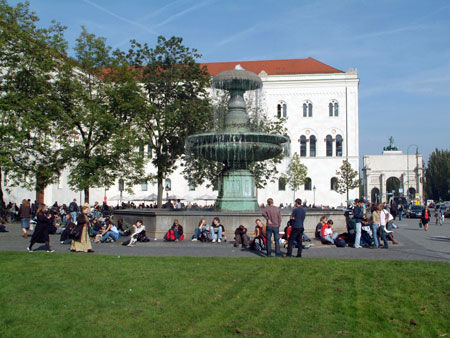 LMU Campus (Image Credit: LMU Munich)