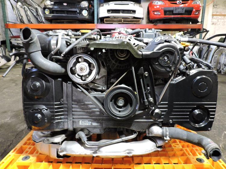 Subaru Forester STI - 1999 to 2000 - EJ205DWXKE 2 0L Turbo Boxer STI Swap