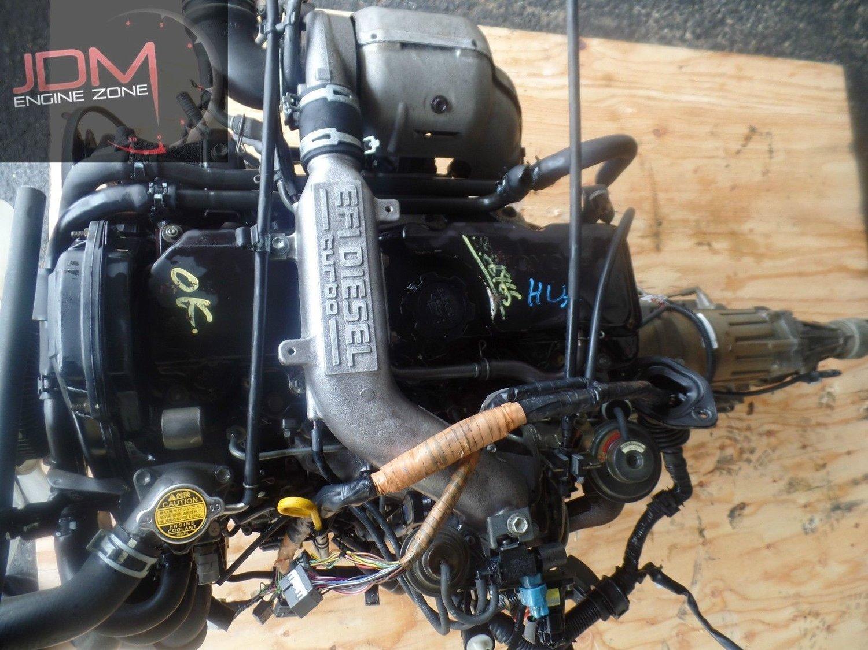 Toyota 4Runner - 2L-TE Turbo EFI Diesel 2 4L JDM Swap