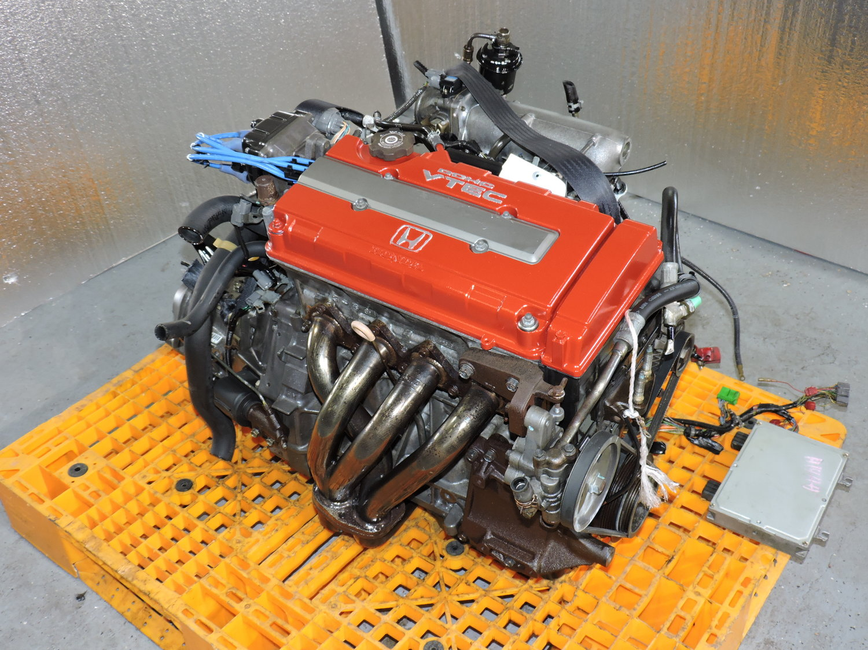 Honda Civic Type-R - 1997 to 2000 - B16B 1 6L DOHC VTEC Full Swap w Headers  — JDM Engines New Jersey