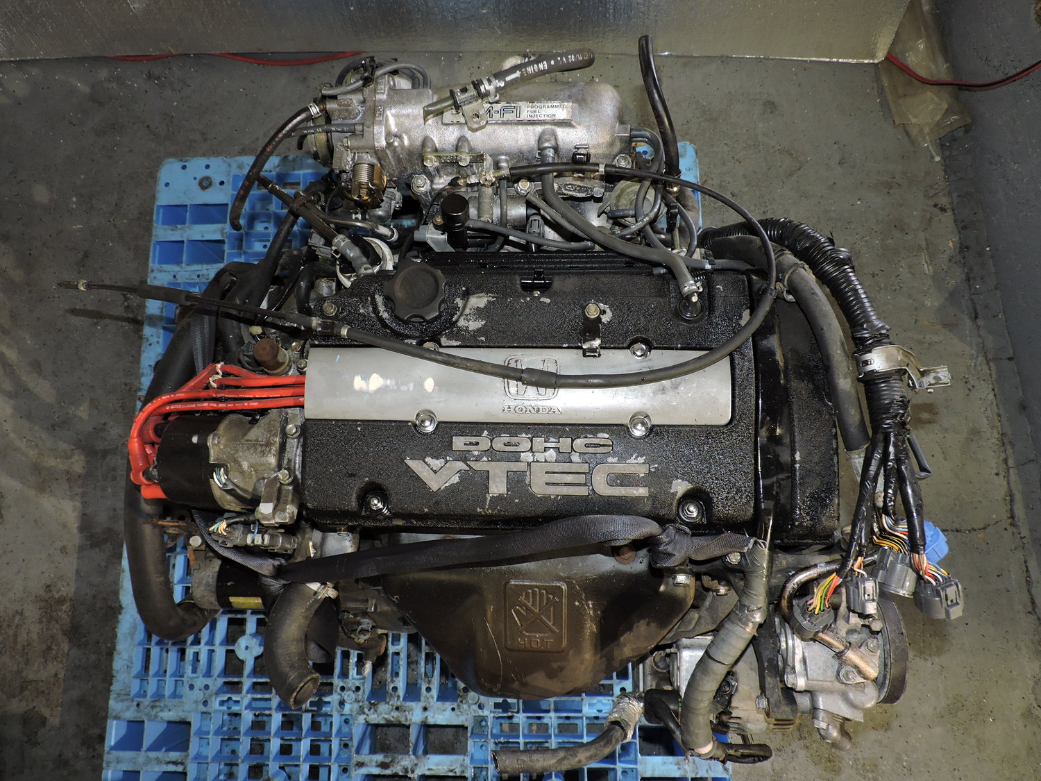 Honda Prelude 1992 To 1995 H22a 22l Dohc Vtec Manual Swap Jdm Engine