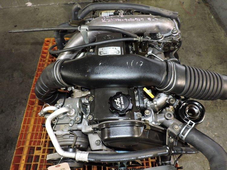 Toyota Land Cruiser Prado 3 0L SOHC Turbo Diesel Engine + AUTO 4x4 Trans  JDM 1KZTE