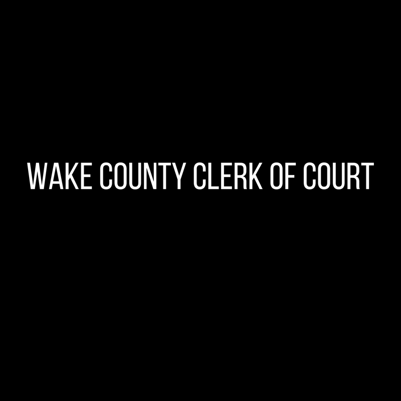 Wake County Clerk of Court