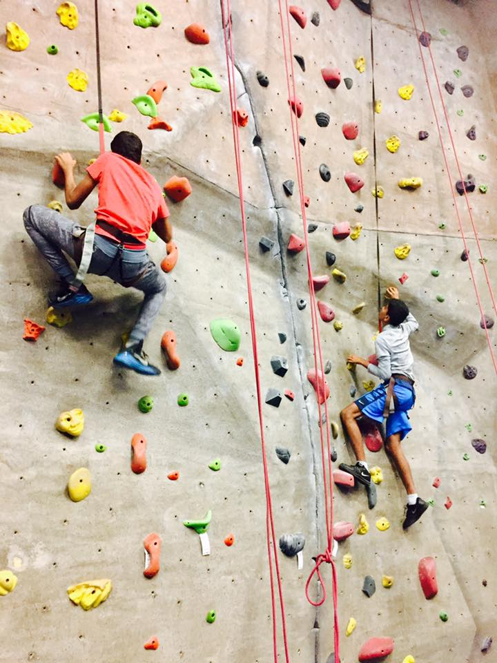 Teen Rock Climbing Workshop 2017