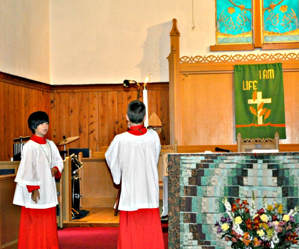 Acolyte Commissioning September 19, 2016