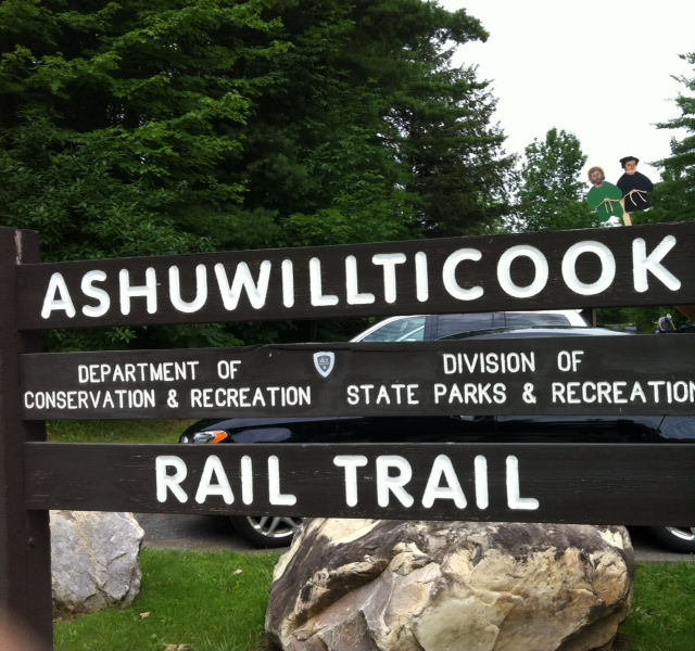 Ashuwillituck Rail Trail, July 2017