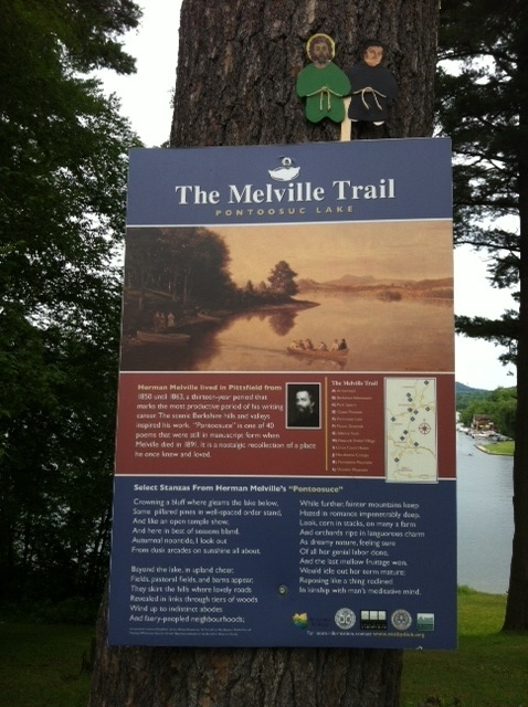 Melville Trail at Pontoosuc Lake, July 2017