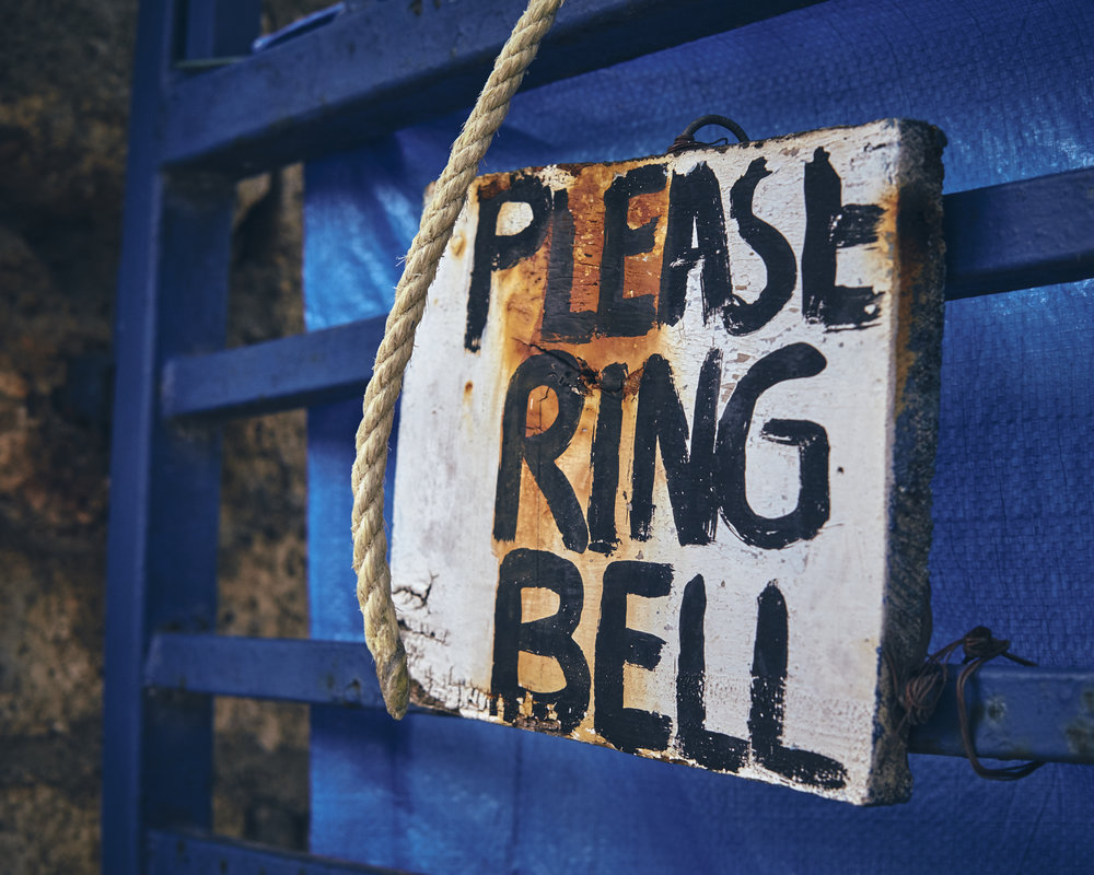 PLEASE RING BELL