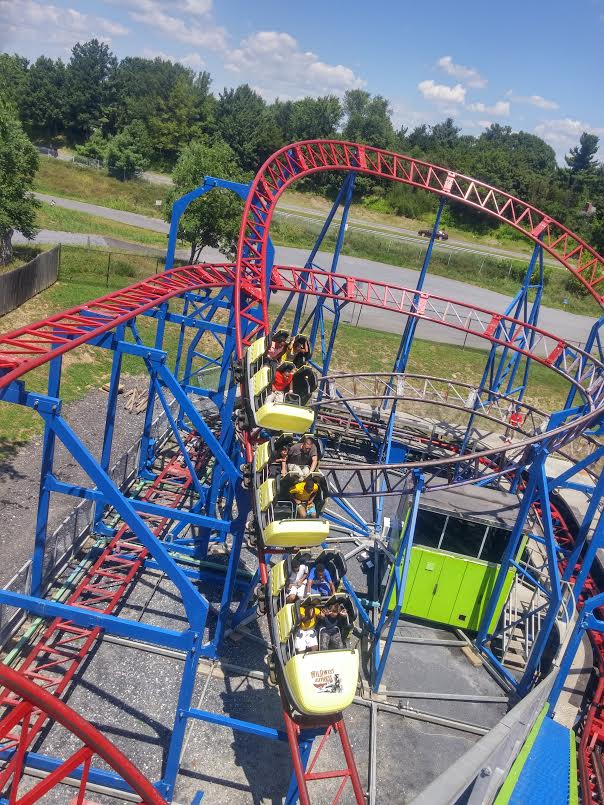 The Wild West Express Roller Coaster soars 53 feet tall and features tight turns and heart-pounding drops. This coaster is only for the bravest of the cowboys and cowgirls who like high-action thrills and fun!