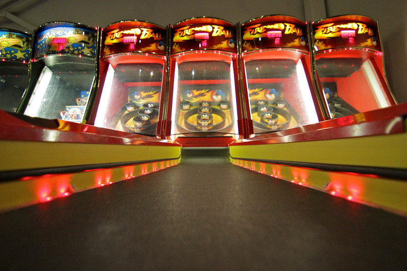 Adventure Park USA's Stampede Arcade features more than 110 different arcade games. When you've had your share of arcade adventure, you can cash in your winnings at the redemption counter and choose from many great prizes.