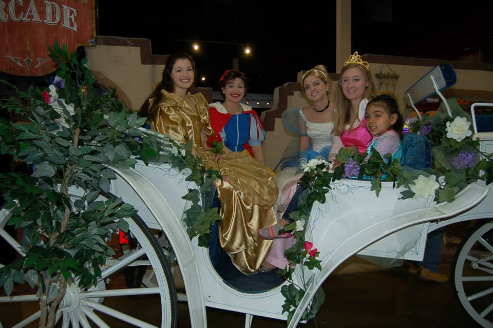 Princesses in Carriage