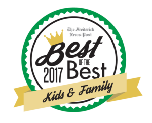 Adventure Park USA named Best Kid's Birthday Party Venue for 2017 by the Frederick News-Post
