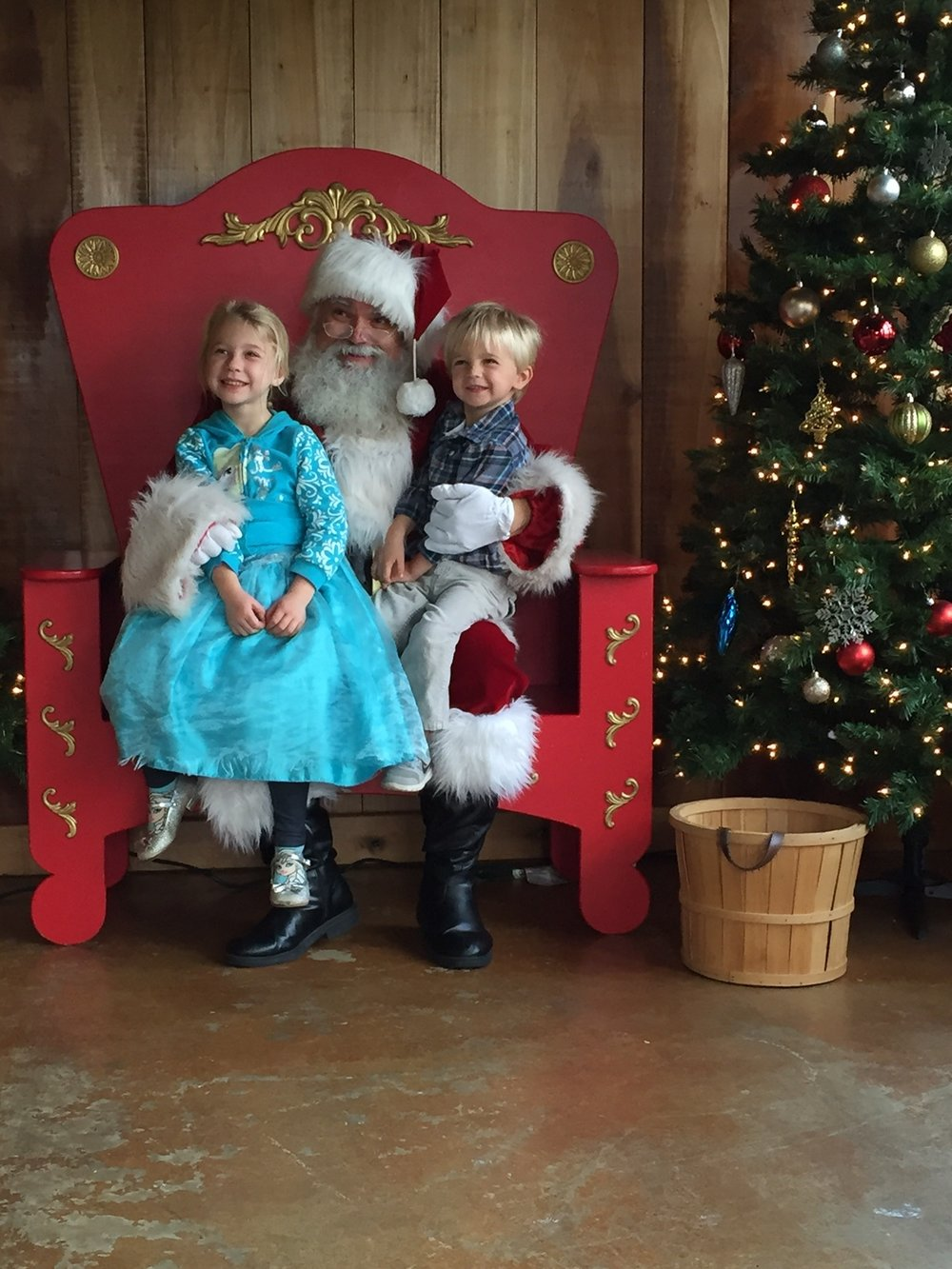 Meet Santa at Adventure Park USA!