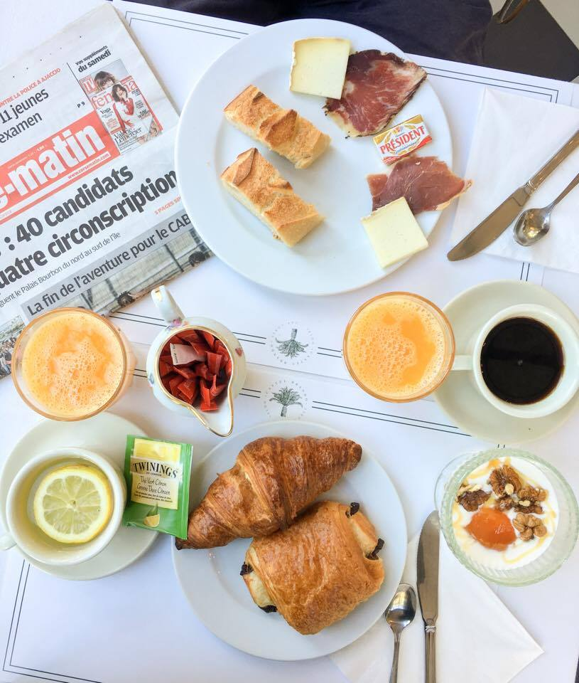 The flakiest of croissants and locally-sourced ingredients for breakfast at Hotel Castel Brando