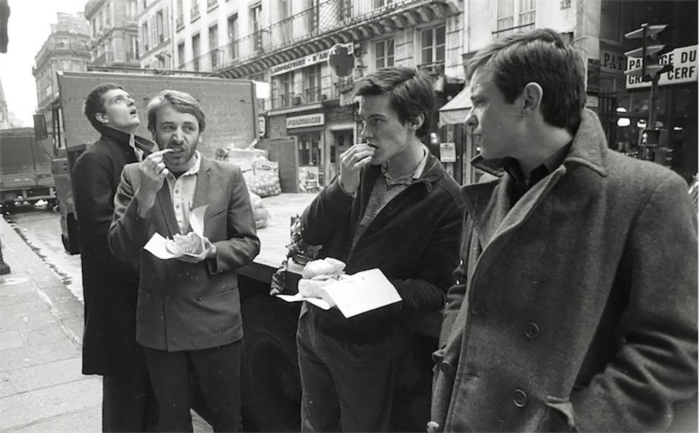 Photo of Joy Division by Pierre Rene-Worms, 1979 (from FB page of British Ideas Corporation)