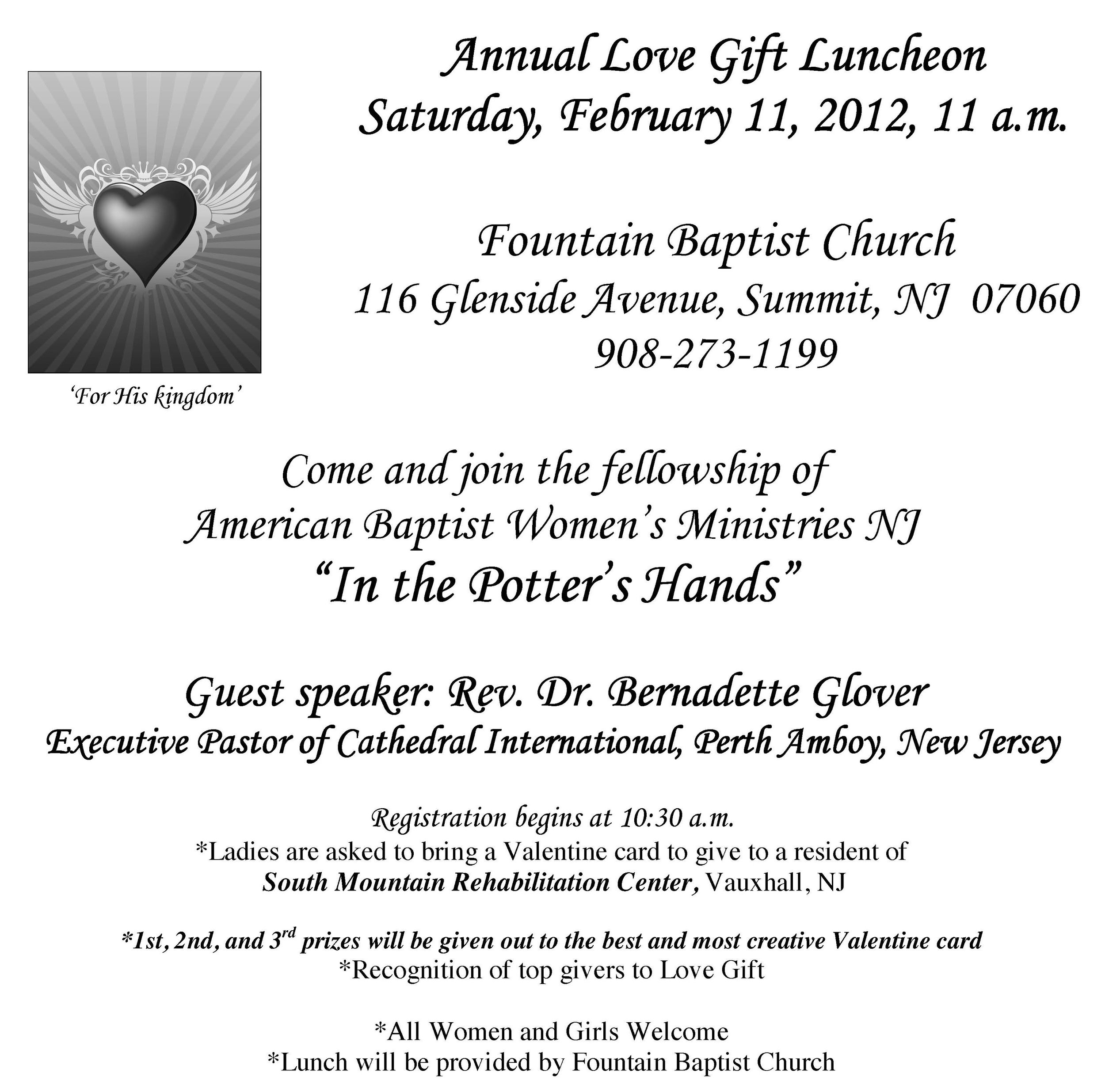ABWM Love Gift Event