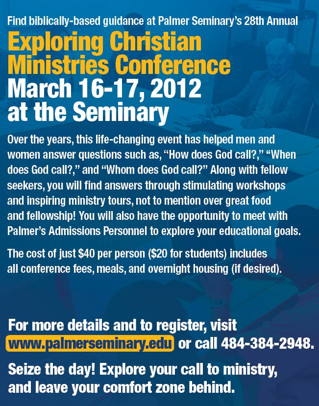 Exploring Christian Ministry Conference