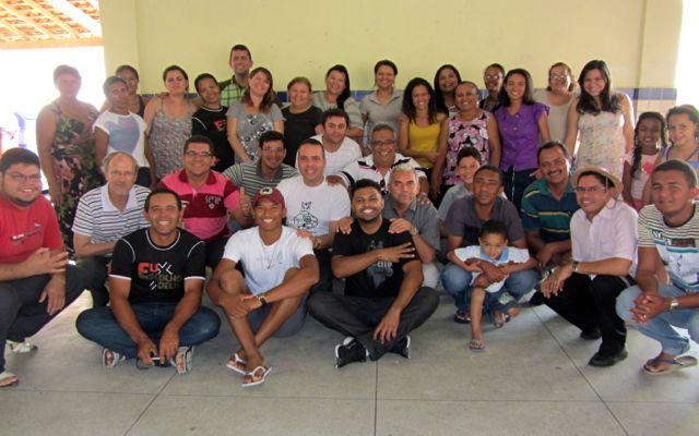 Ararapina treinamento 2012