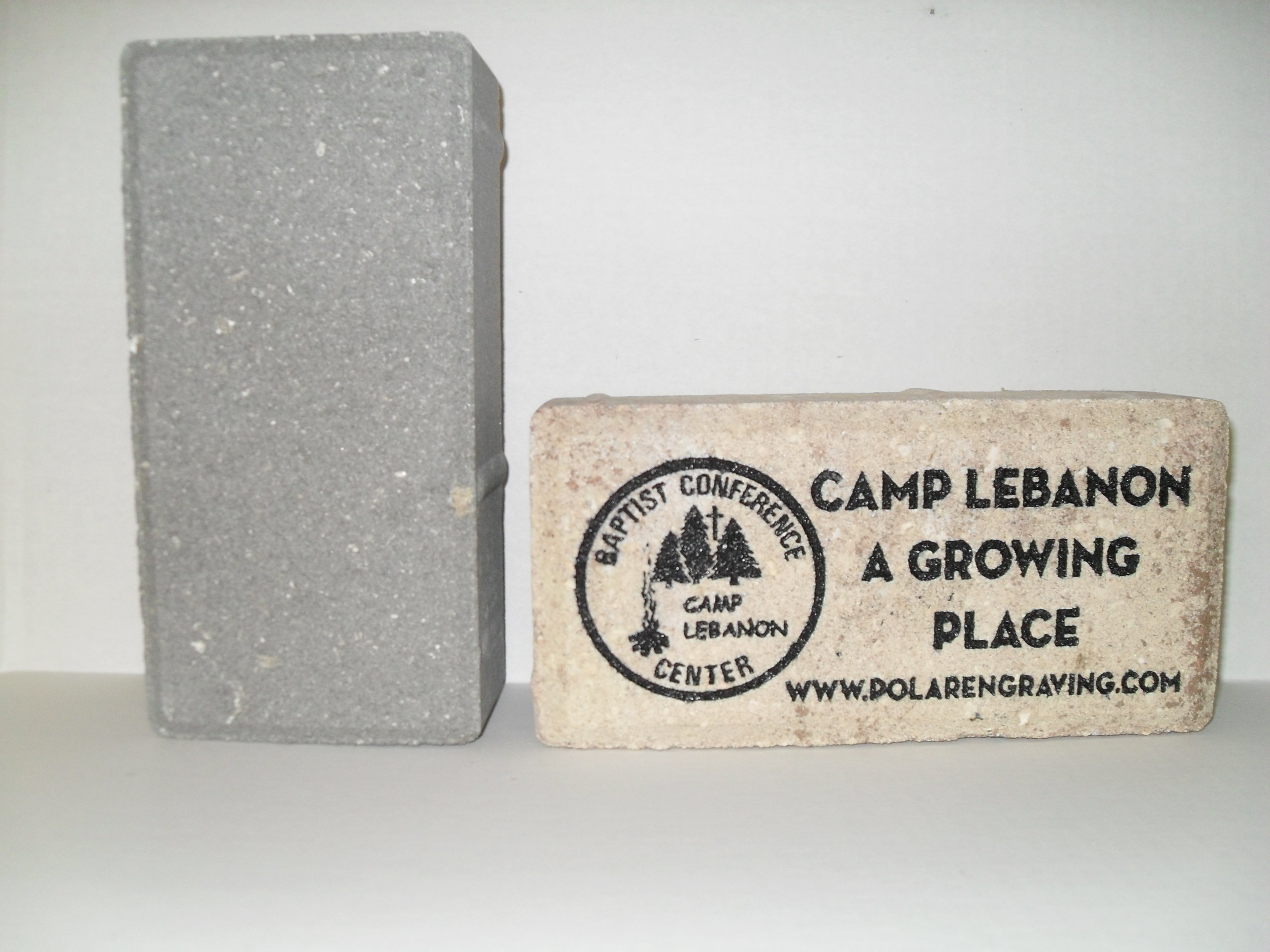 memorial bricks for Camp Lebanon