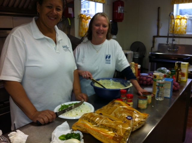 Chefs: Vicki Goff (ABHMS) and Denise Gratzel (ABCNJ)