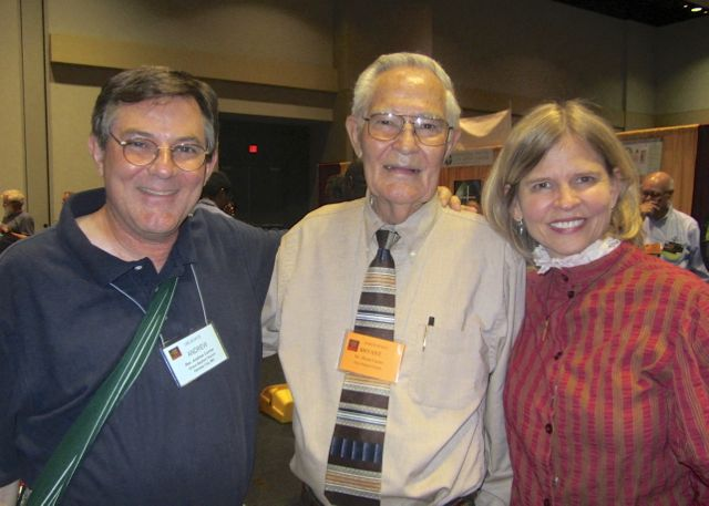 Bryant Currier (center) served in Burma with his wife Sara Jean until all foreigners were expelled in 1966 at the onset of military rule. 