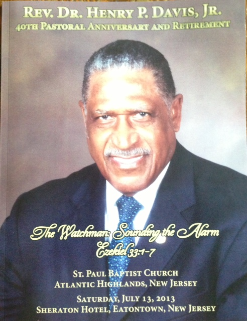 Rev. Dr. Henry P. Davis
