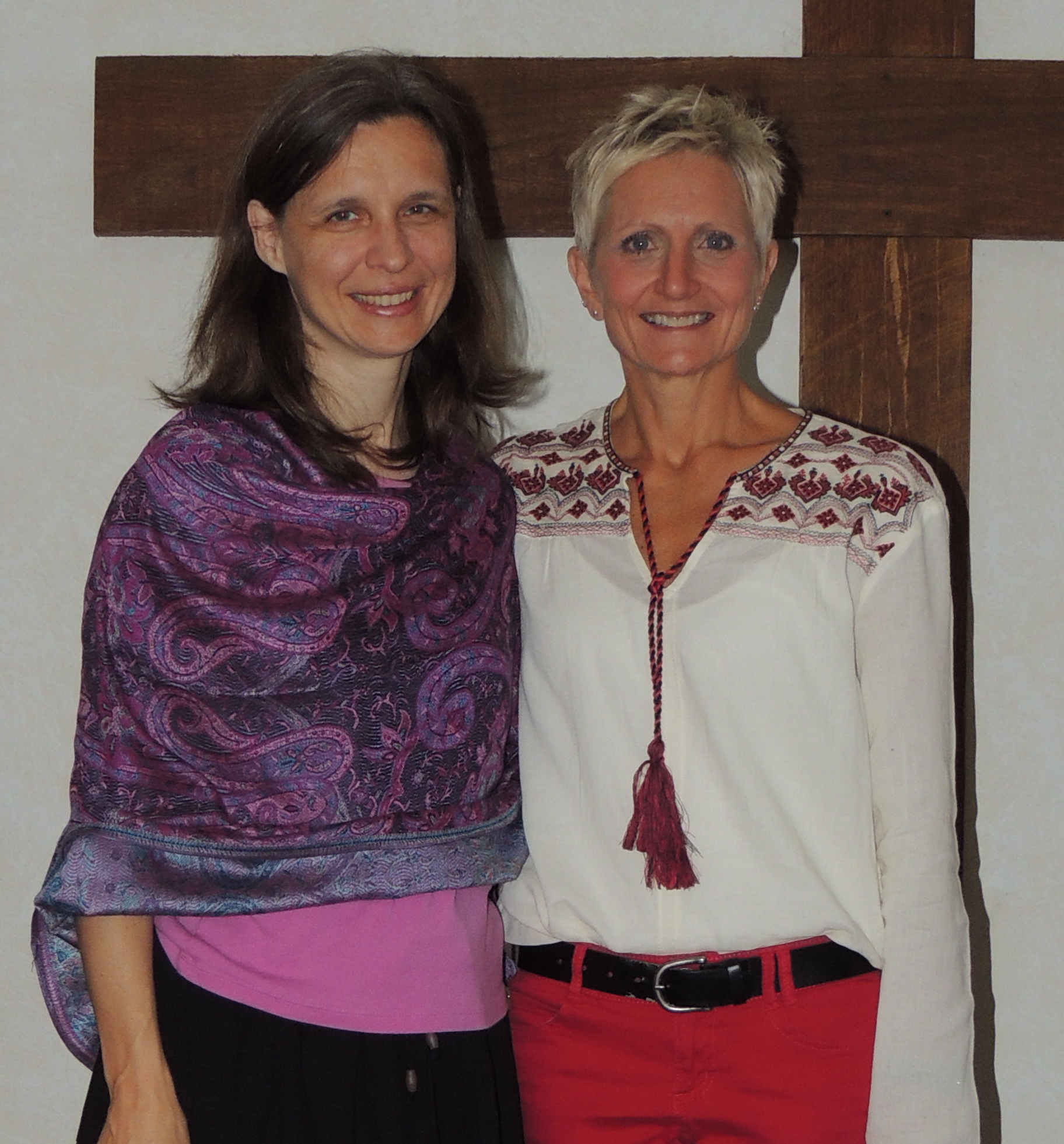 Dr. Anita Guiterrez and Rev. Sue Royle - Associate Regional Pastor for GoGlobal Mission Ministries