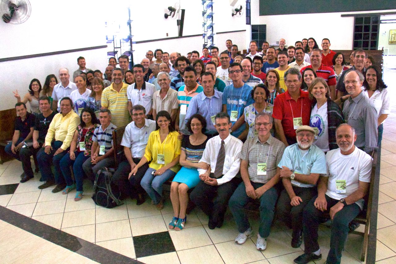 The 1st National Consultation on Integral Mission. Can you find Ann and Bruce?