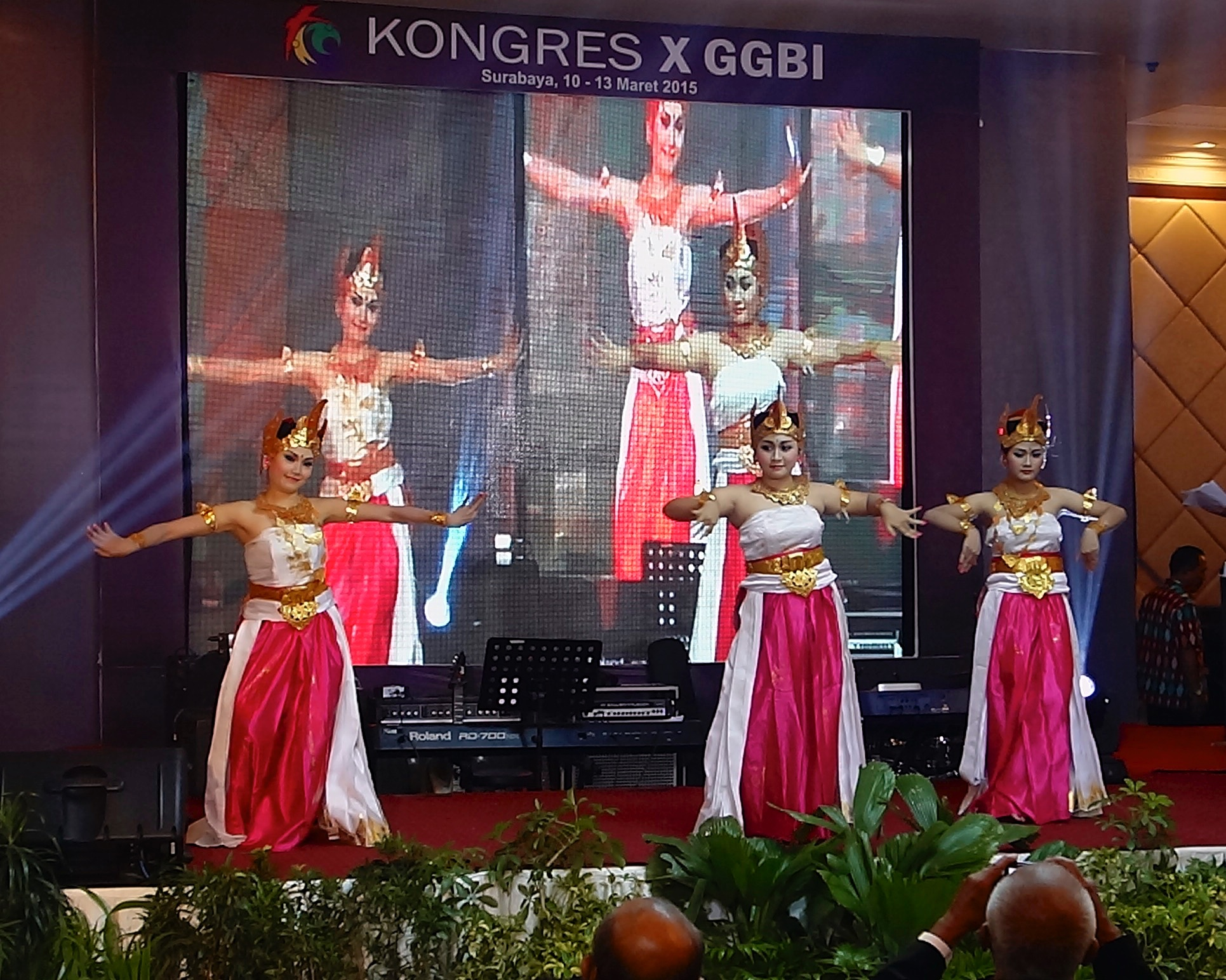 Indonesian Baptists celebrated their rich cultural diversity during the Congress