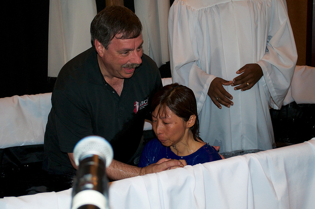 Baptism - Lee and Mia 2015 #1