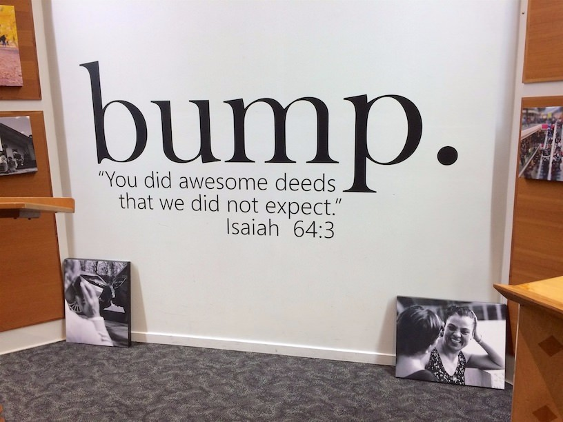 """Bump"" is this year's theme at the NZ Baptist seminary in Auckland."