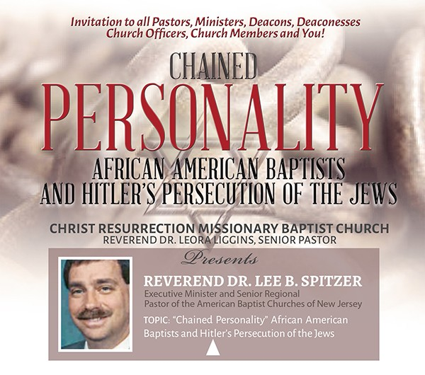 Chained Personality - African American Baptists and Hitler's persecution of the Jews