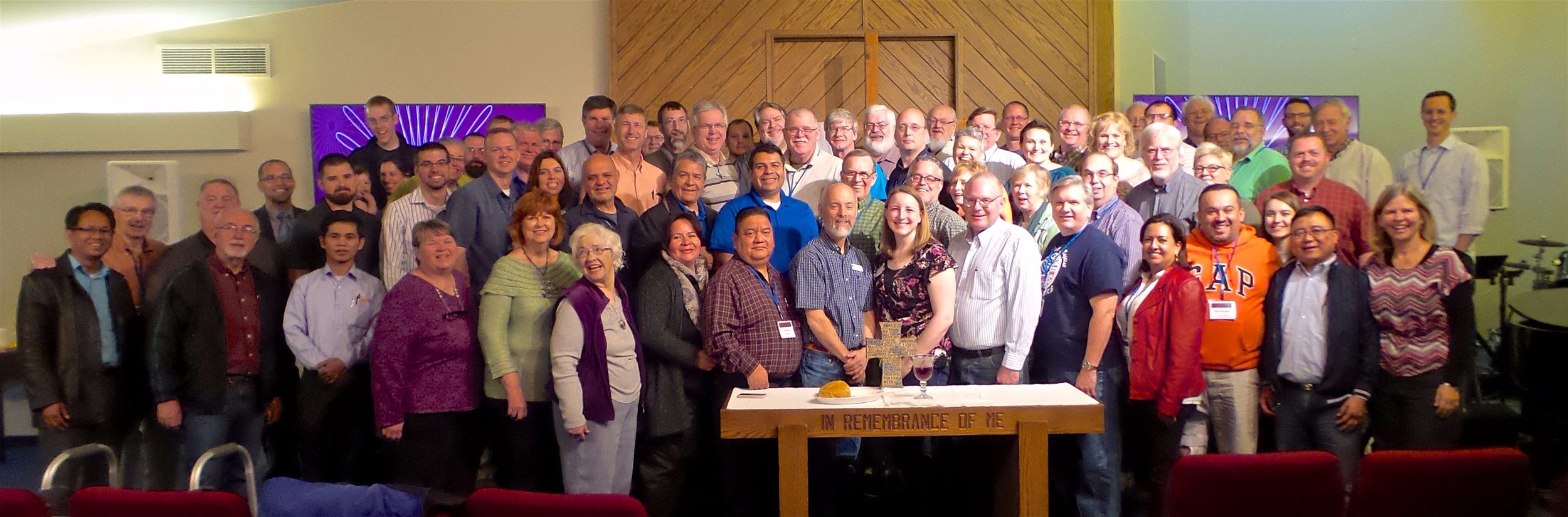 Folks from seven states came together for fellowship, worship and reflection on practical spirituality