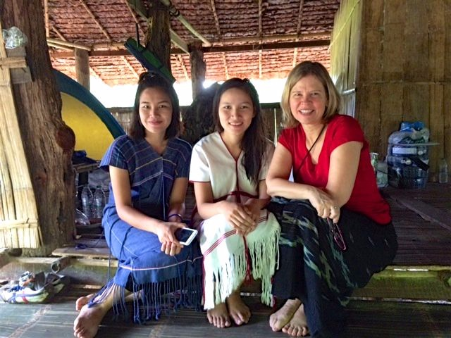 Ann and two of her students from Kawthoolei led worship in two different remote villages on a weekend outreach trip.