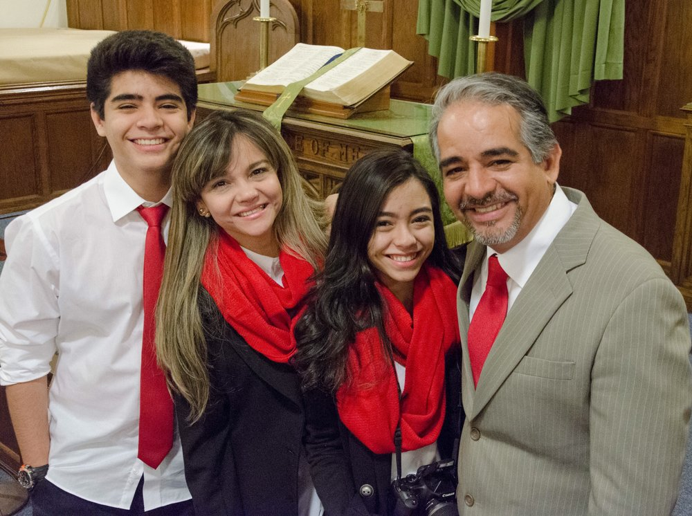 Pastor Ronnie Taques and Family