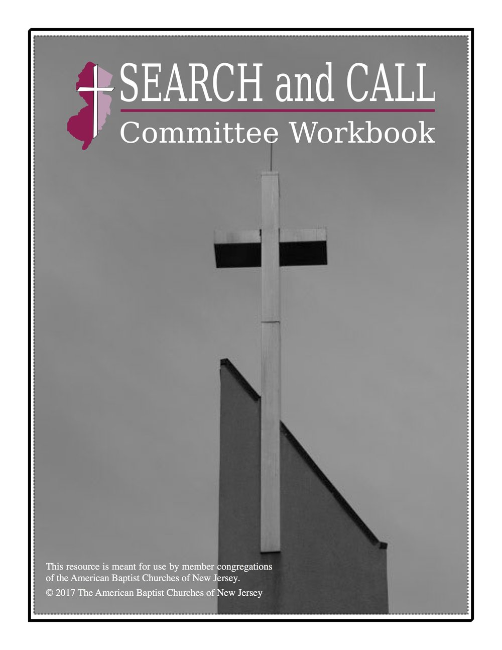 Search committee workbook cover
