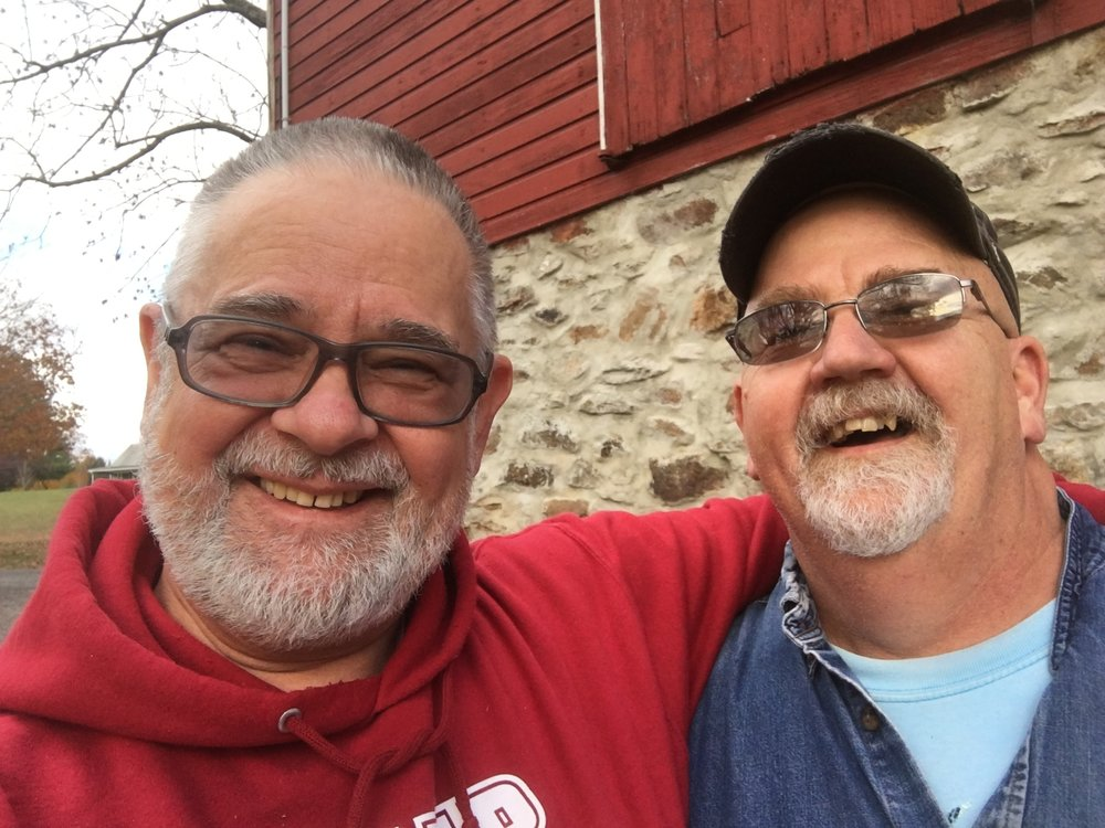 Rev. Leslie Martin and Mr. Don Smith - partners in working for Camp Lebanon's future ministry.