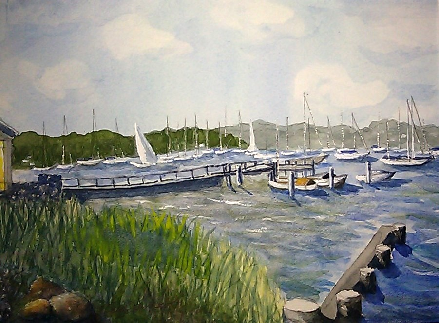 Breeze Is Up -Padenaram Harbor - brighter painting - FINAL - IMAG3287-002 - Copy.jpg
