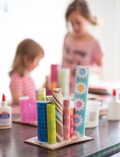Paper Scultpure - We have a wide variety of things we can make with paper!