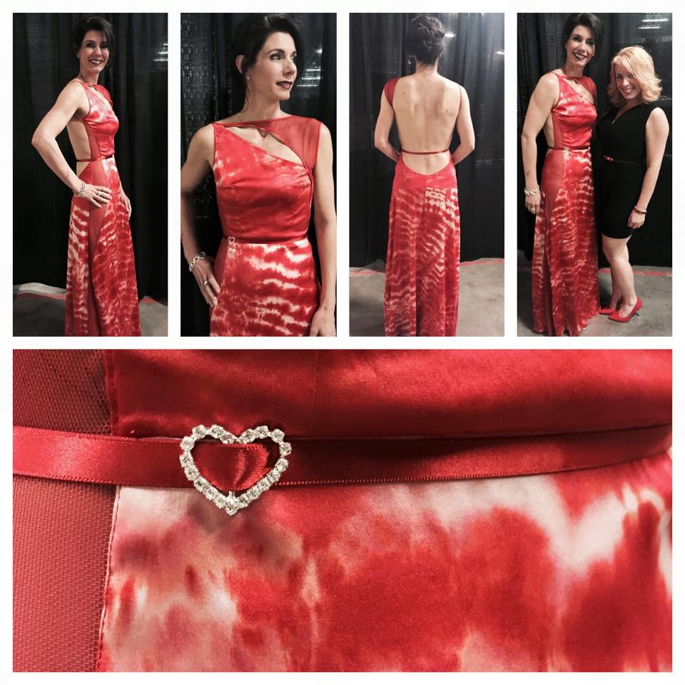 Melanie Mitchell4-Shibori Dress for Heart Truth Fashion Show 2015.jpg