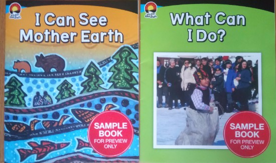 Two sample copies I was sent from Nelson